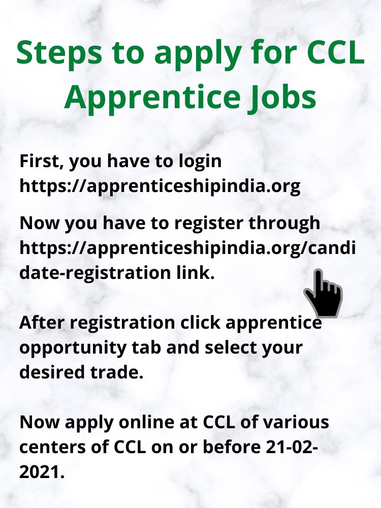 CCL Apprentice Jobs