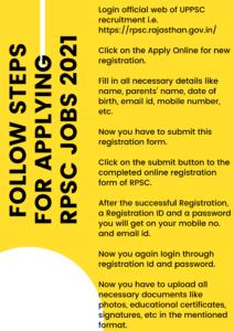 RPSC Recruitment Apply Online