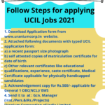 UCIL Recruitment 2021
