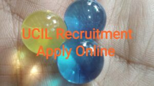 UCIL Recruitment Apply Online