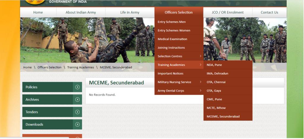 ARMY Recruitment Training Center