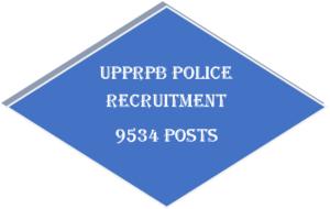 UPPRPB Police Jobs 9534 posts