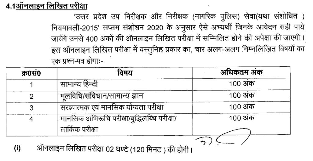 UPPRPB Police recruitment 9534 posts selection process